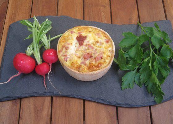 Ham & Egg (no cheese) Quiche