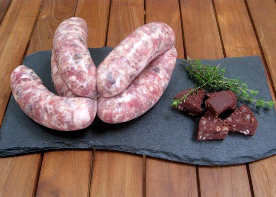 Pork and Black Pudding Sausages