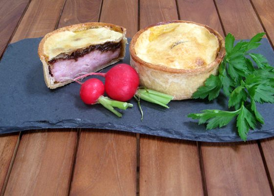 Crisp Bake Pork & Caramelised Onion Pie