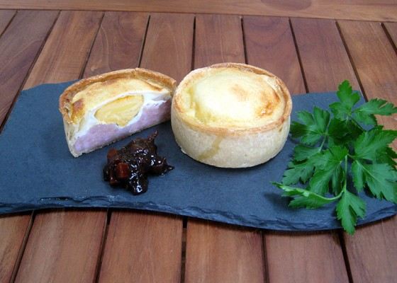 Crisp Bake Pork & Egg Pie