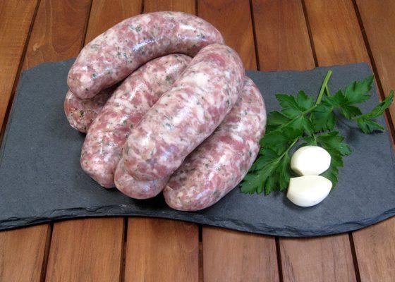 Pork, Herb & Garlic Sausages