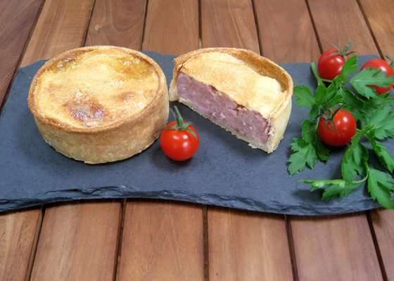 Crisp Bake Plain Pork Pie